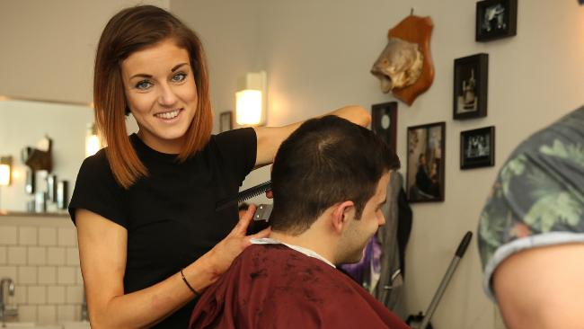 Fi Barber shop